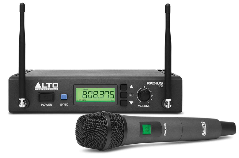 Alto RADIUS 100 UHF Wireless Handheld Microphone - PSSL ProSound and Stage Lighting