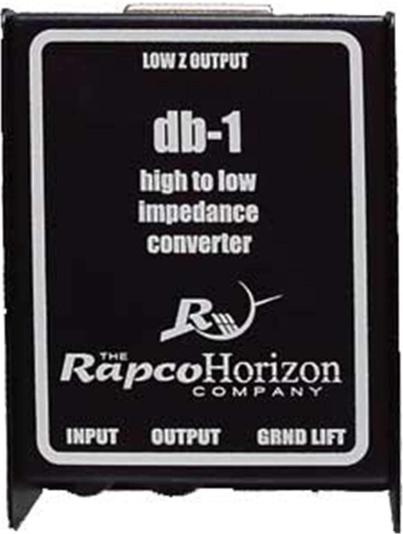 Rapco DB1 High to Low Impedance Converter Box - PSSL ProSound and Stage Lighting