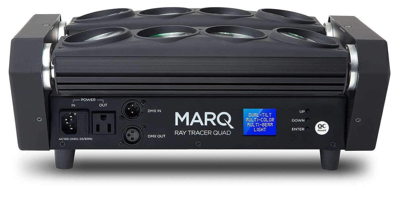 MARQ Ray Tracer Quad Dual-Tilt Multi-Beam LED Light - PSSL ProSound and Stage Lighting