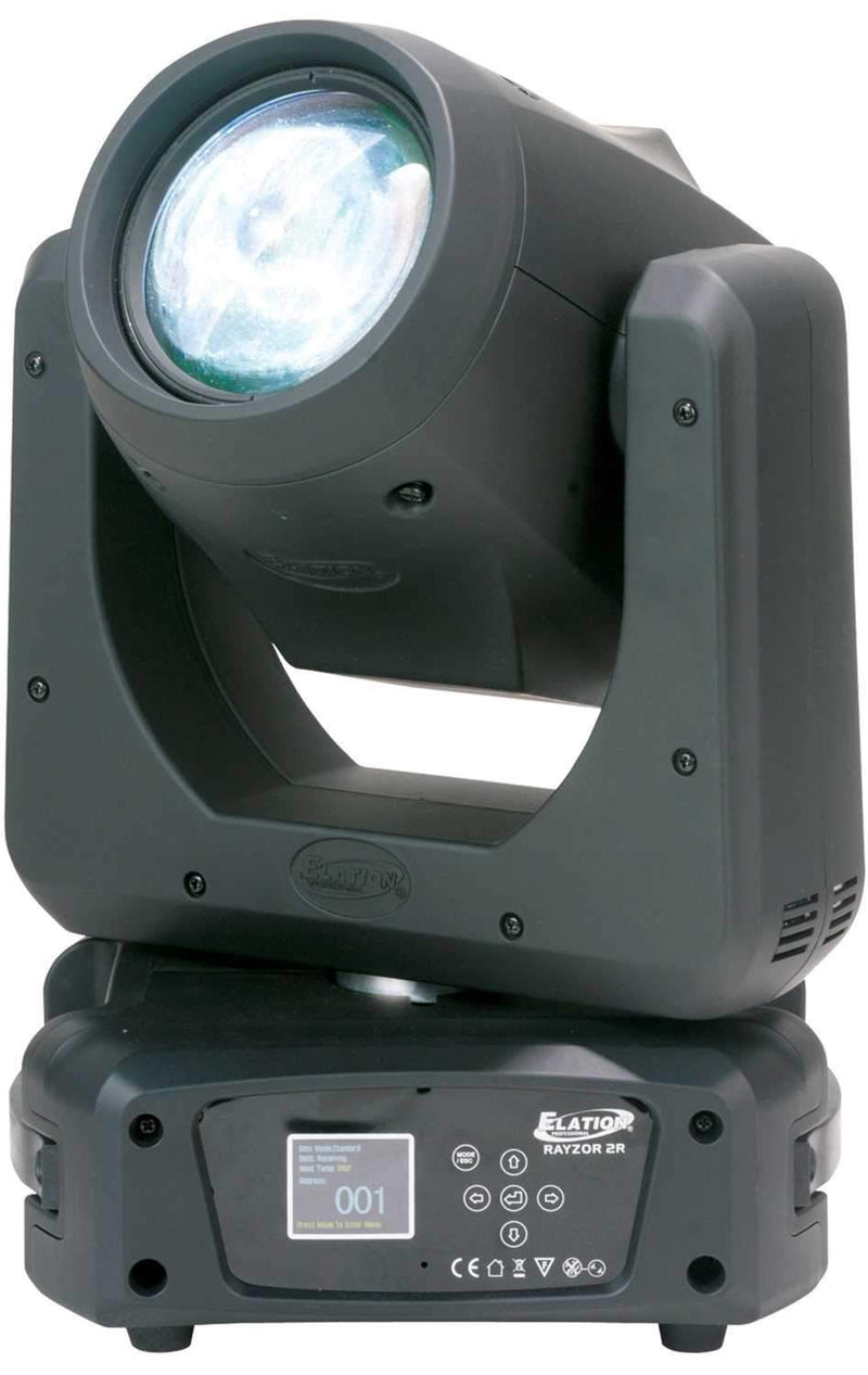 Elation Rayzor Beam 2R 210-Watt 13 Color Moving Head Light - PSSL ProSound and Stage Lighting