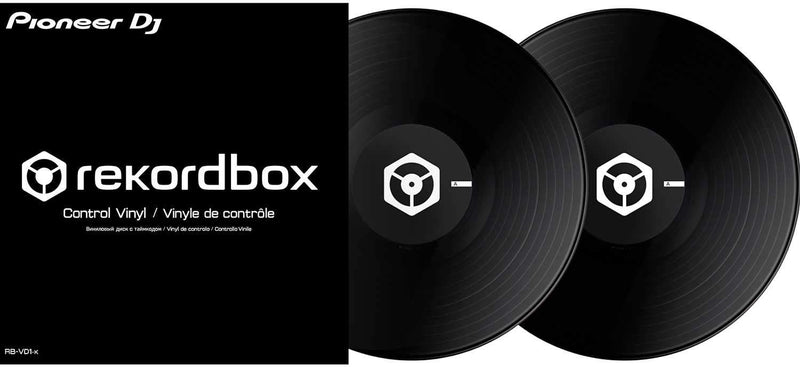 Pioneer DJ RB-VD1-K Control Vinyl for rekordbox DJ Double Black Pack - PSSL ProSound and Stage Lighting
