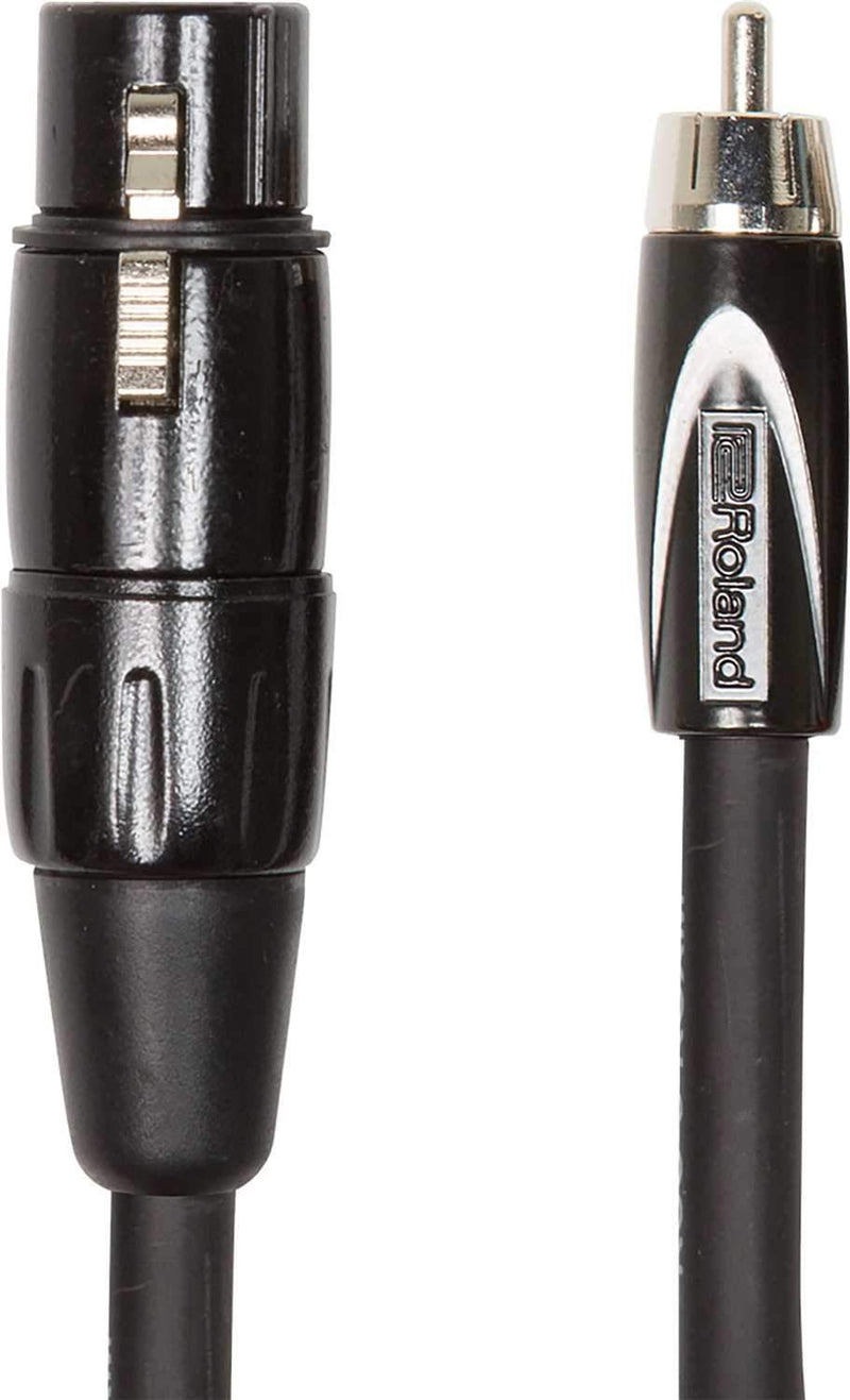 Roland RCC-10-RCXF 10ft XLR Female to RCA Cable - PSSL ProSound and Stage Lighting