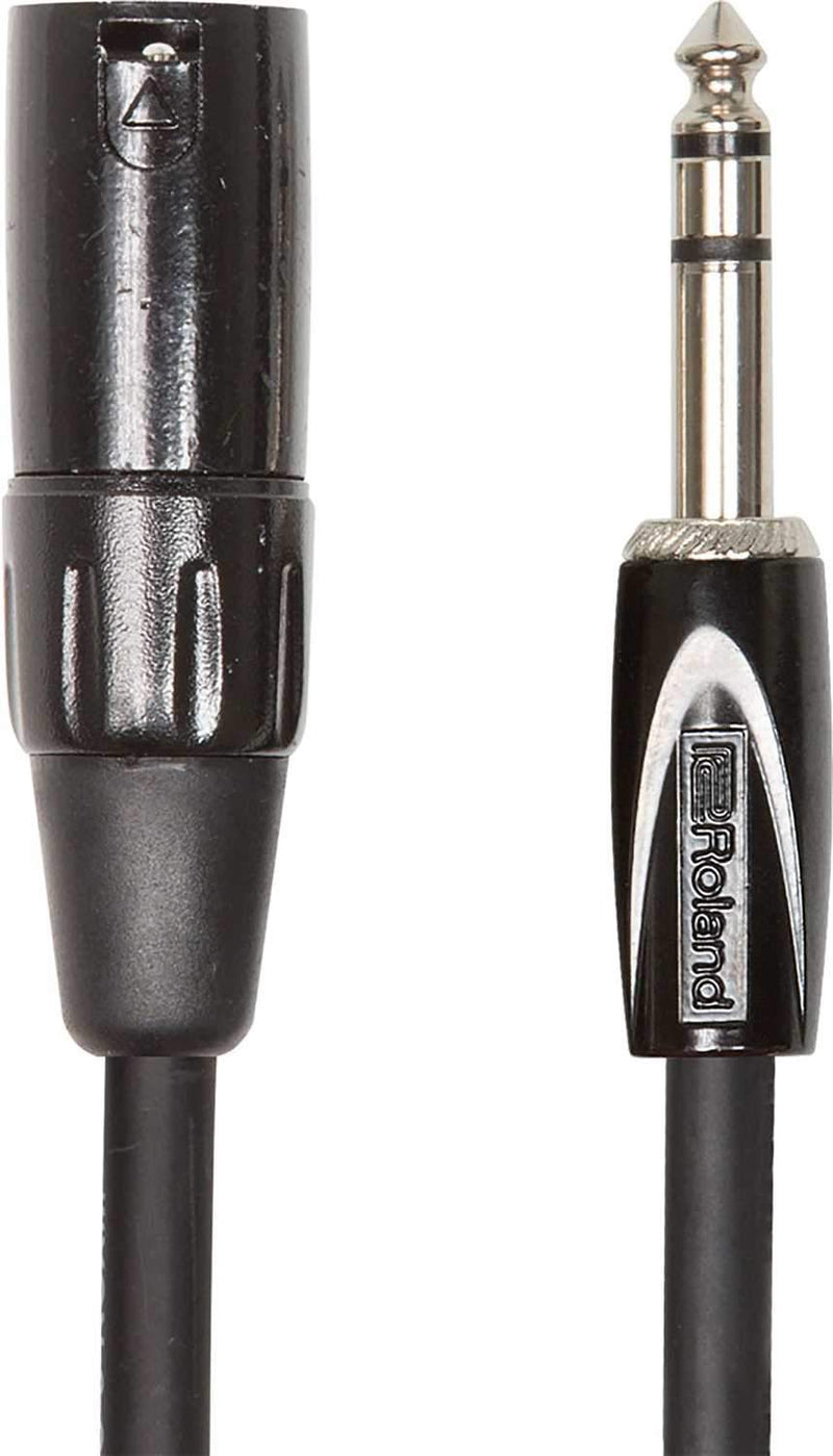 Roland RCC-15-TRXF 15ft 1/4 inch TRS to XLR(F) Cable - PSSL ProSound and Stage Lighting