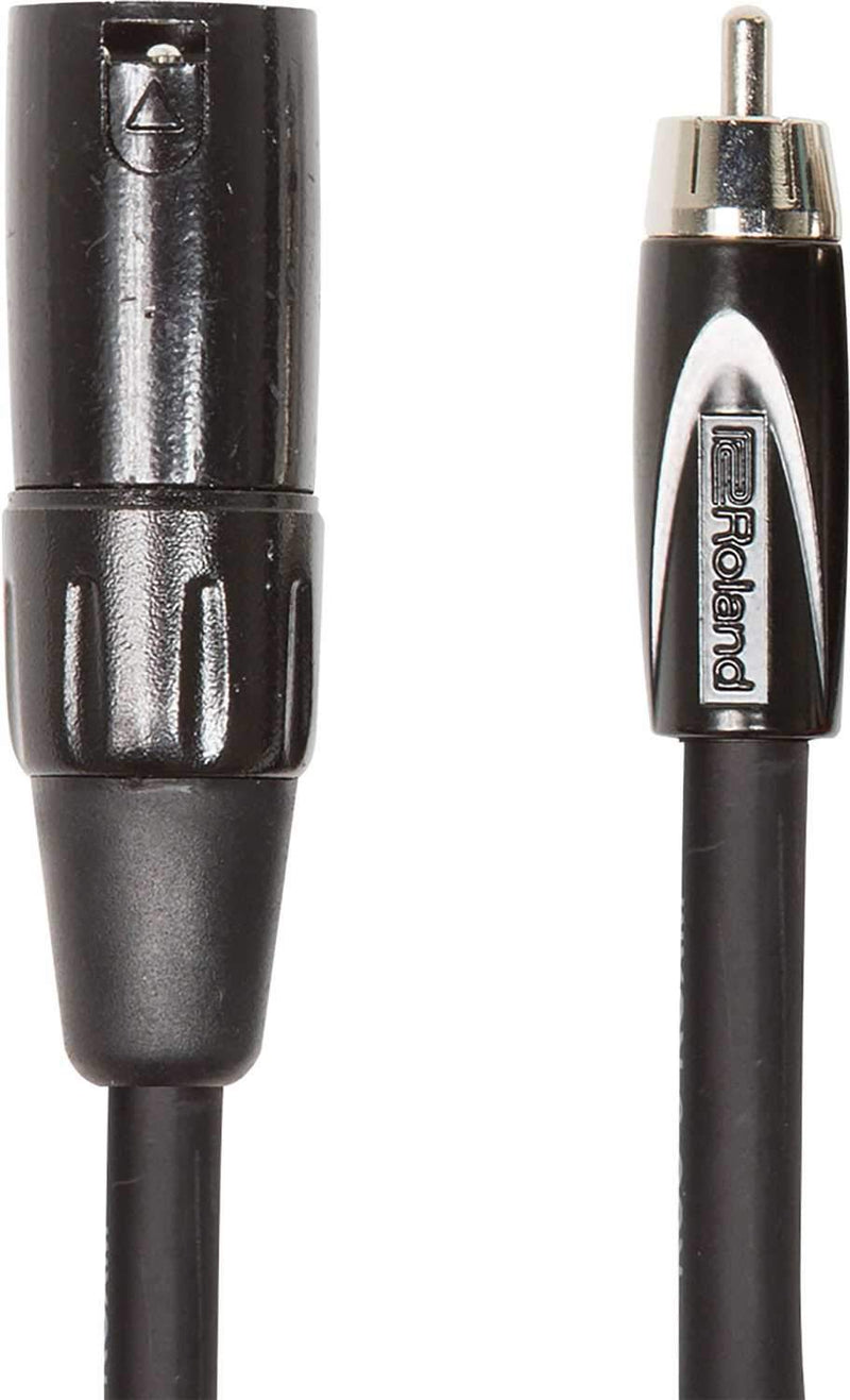 Roland RCC-5-RCXM 5ft XLR Male to RCA Cable - PSSL ProSound and Stage Lighting
