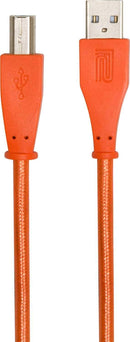 Roland RCC-5-UAUB 5ft Orange USB-A to USB-B Cable - PSSL ProSound and Stage Lighting