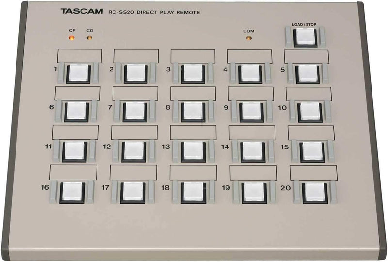 Tascam RCSS20 Direct Play Remote - PSSL ProSound and Stage Lighting