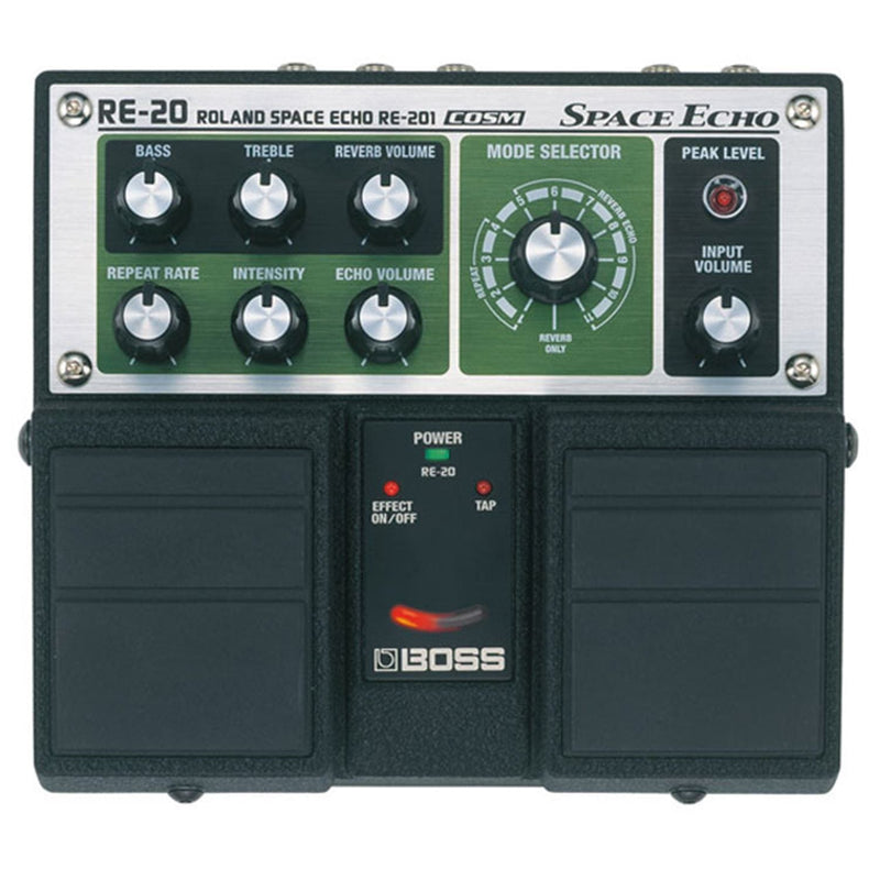 Boss RE-20 Space Echo Effects Pedal - PSSL ProSound and Stage Lighting
