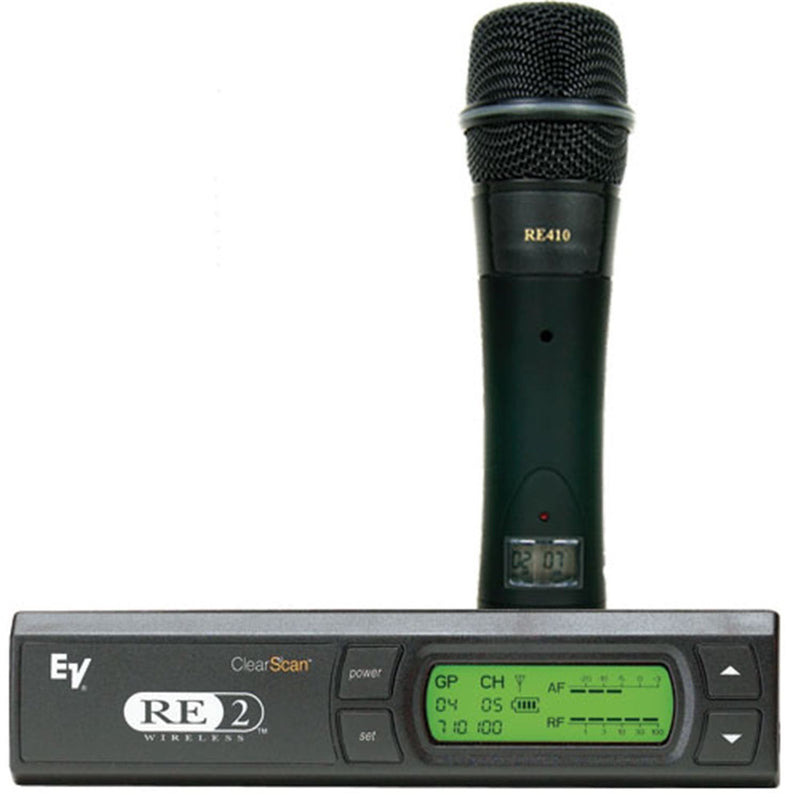 Electro Voice RE2410 Handheld System With RE410 Mic - PSSL ProSound and Stage Lighting