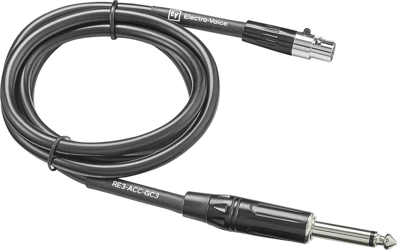 Electro Voice RE3-ACC-GC3 1/4 Cable to TA4F - PSSL ProSound and Stage Lighting