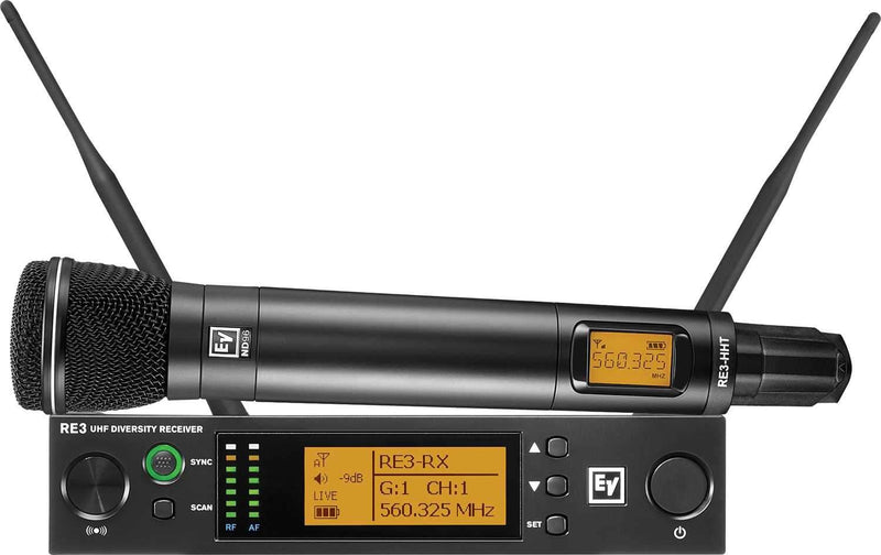 Electro-Voice RE3 ND96 5H Wireless Handheld Mic Set - PSSL ProSound and Stage Lighting