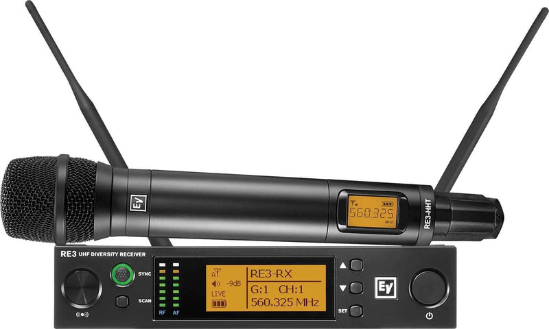Electro-Voice RE3 RE420 6M Wireless Handheld Mic Set - PSSL ProSound and Stage Lighting