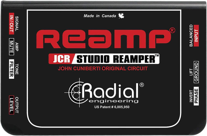Radial Reamp JCR Passive John Cuniberti Reamper - PSSL ProSound and Stage Lighting