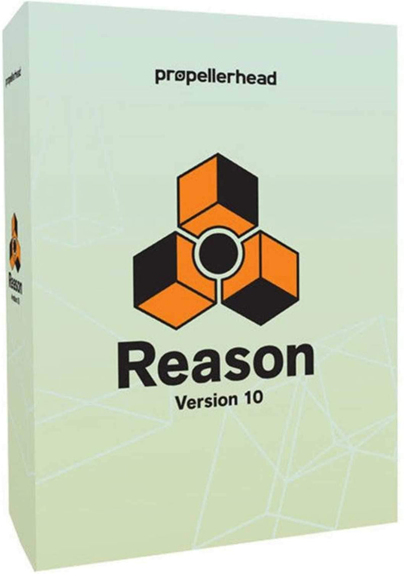 Propellerhead REASON 10 Upgrade from Any Previous Version - PSSL ProSound and Stage Lighting