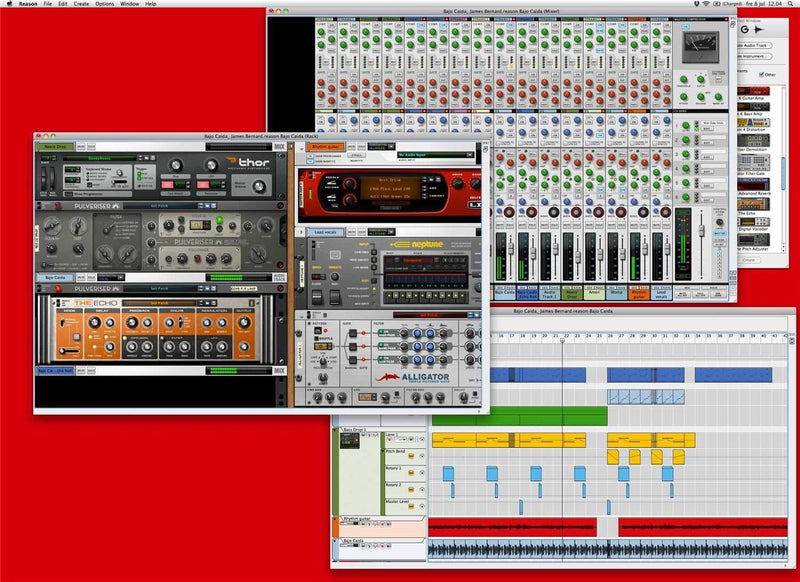 Propellerhead Reason 6 Music Creation Software DAW - PSSL ProSound and Stage Lighting
