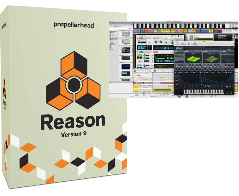 Propellerhead Reason 9.5 Software Full Version - PSSL ProSound and Stage Lighting