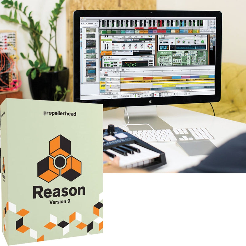 Propellerhead Reason 9 Software Full Version - PSSL ProSound and Stage Lighting