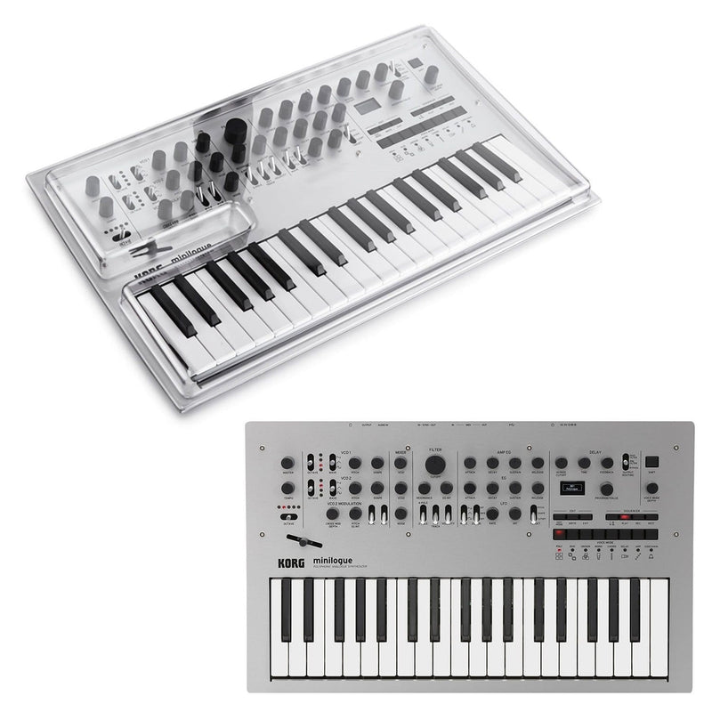 Korg Minilogue Polyphonic Analog Synth & Decksaver - PSSL ProSound and Stage Lighting