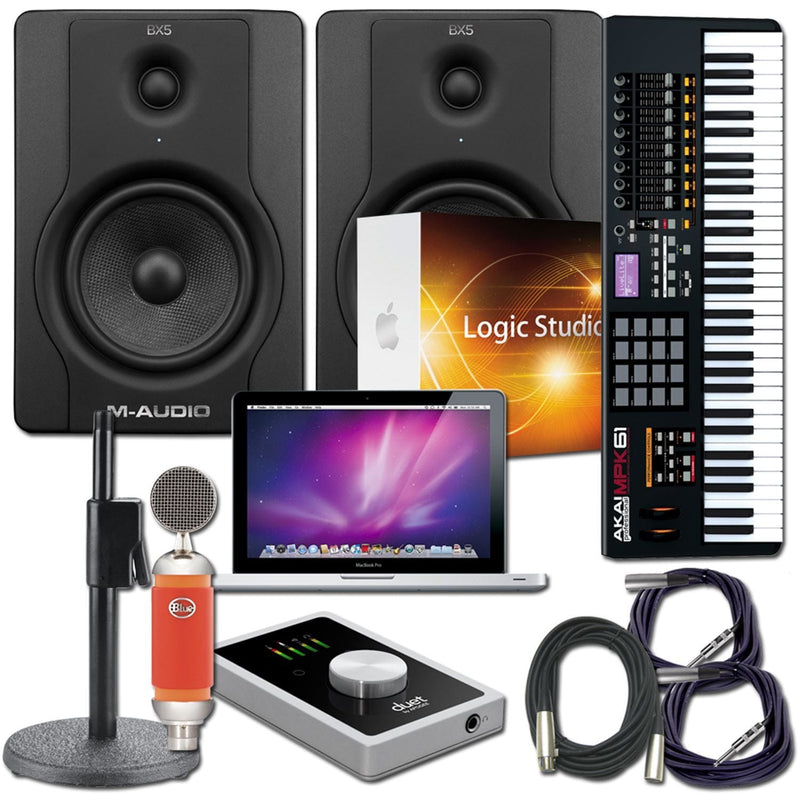 Apple Logic Duet2 Recording Package with MacBook Pro - PSSL ProSound and Stage Lighting