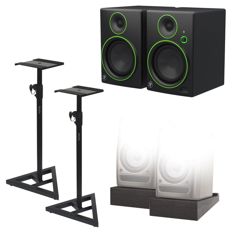 Mackie CR5BT Complete Studio Bluetooth Monitors Kit - PSSL ProSound and Stage Lighting