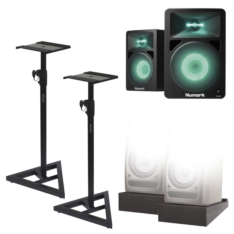 Numark N-Wave 580L Complete Studio Monitors Kit - PSSL ProSound and Stage Lighting