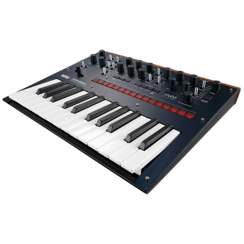 Korg Monologue Analog Monophonic Blue Synth & Decksaver - PSSL ProSound and Stage Lighting