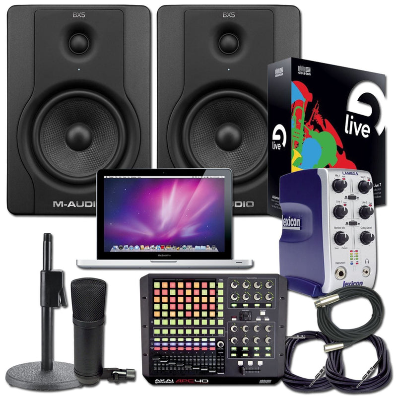 Ableton Live 8 Recording Package With MacBook Pro - PSSL ProSound and Stage Lighting