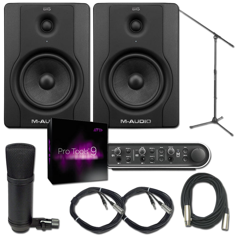 Pro Tools 9 MBox 3 Complete Recording Package - PSSL ProSound and Stage Lighting