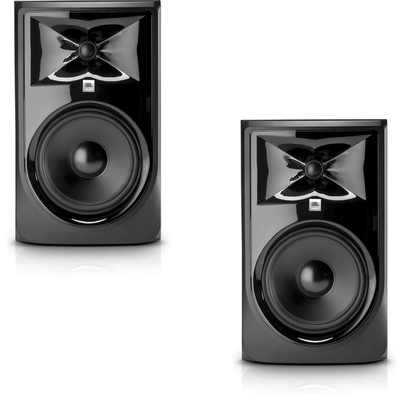 JBL 3 Series 308P MKII Powered Studio Monitor Pair - PSSL ProSound and Stage Lighting