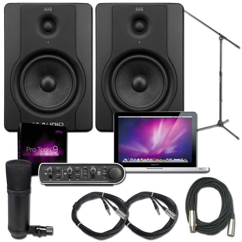 Pro Tools 9 MBox 3 MacBook Pro Recording Package - PSSL ProSound and Stage Lighting