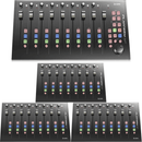 Icon Platform M-Plus Desktop DAW Controller Medium Control Surface Extender Package - PSSL ProSound and Stage Lighting
