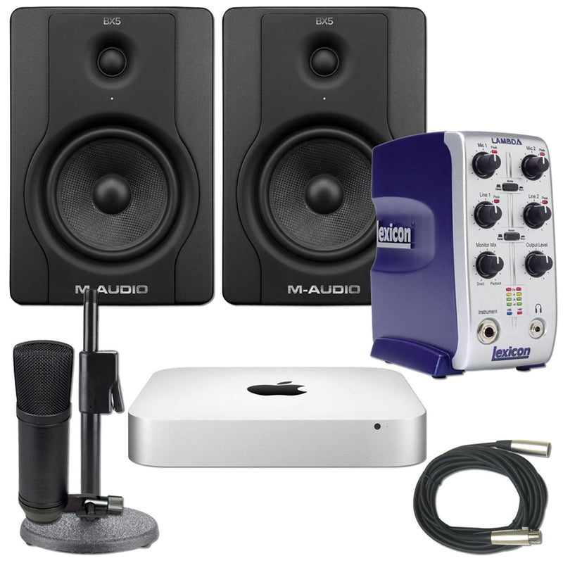 Cubase LE & Garage Band Mac mini Recording Package - PSSL ProSound and Stage Lighting
