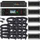 Behringer X32 Rack Digital Mixer Large Stage Package - PSSL ProSound and Stage Lighting
