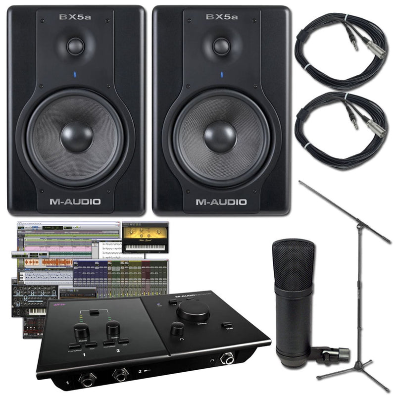 Pro Tools Fast Track C400 Recording Package - PSSL ProSound and Stage Lighting