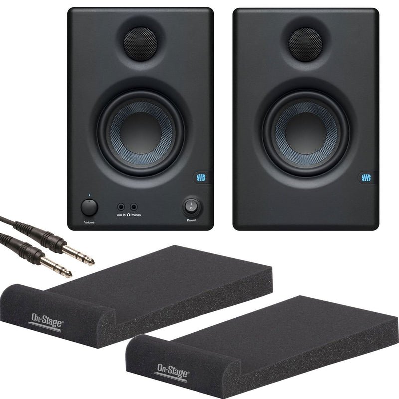 PreSonus Eris E3.5 Studio Monitors with Platforms - PSSL ProSound and Stage Lighting