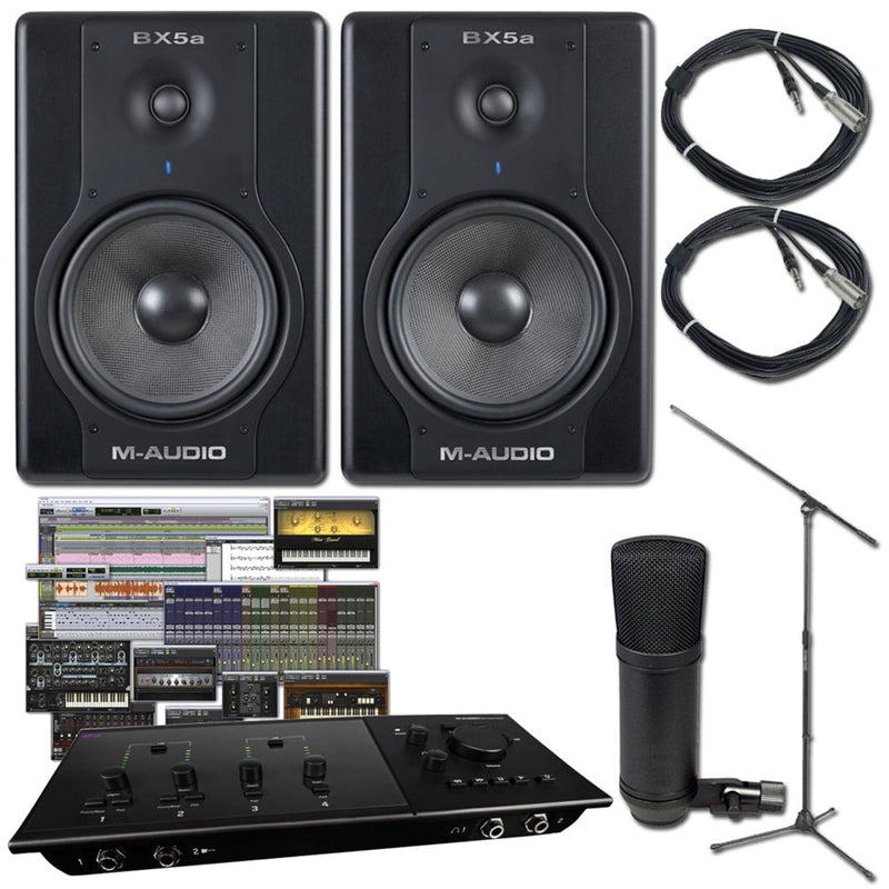 Pro Tools Fast Track C600 Recording Package - PSSL ProSound and Stage Lighting
