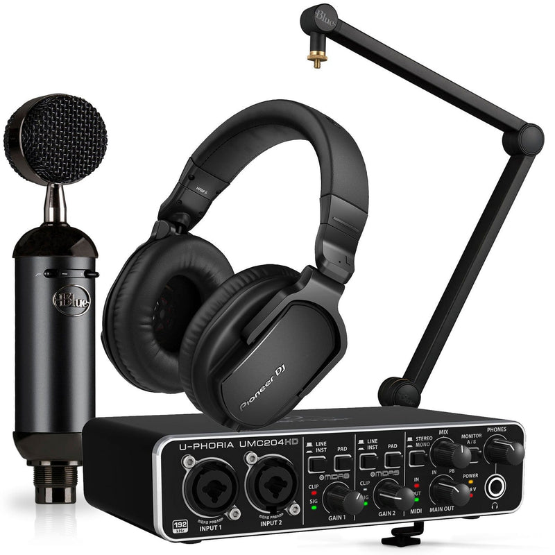 Blue Blackout Spark Podcast Bundle with HRM-5 - PSSL ProSound and Stage Lighting