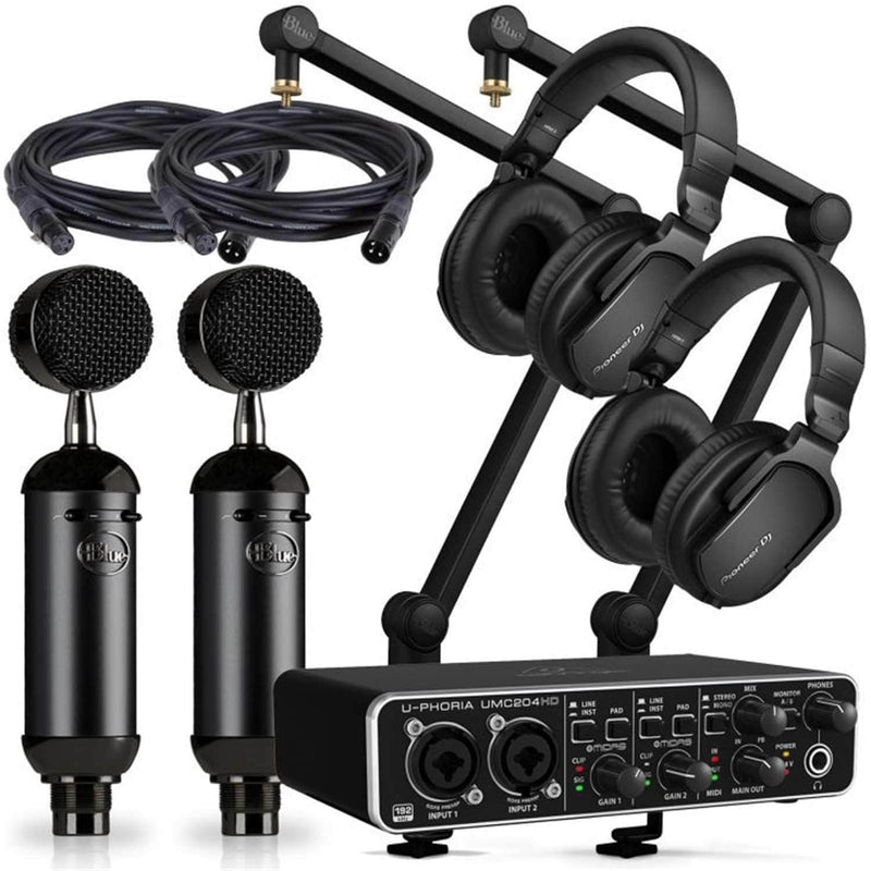 Blue Blackout Spark Podcast Bundle with two HRM-5 - PSSL ProSound and Stage Lighting