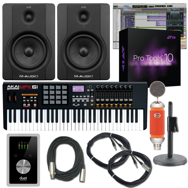 Protools - Akai Complete Recording Package - PSSL ProSound and Stage Lighting