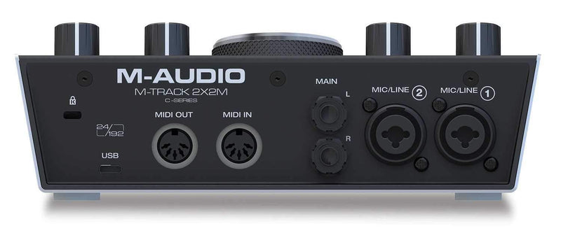 M-Audio Uber Mic & M-Track C-Series Podcast Bundle - PSSL ProSound and Stage Lighting