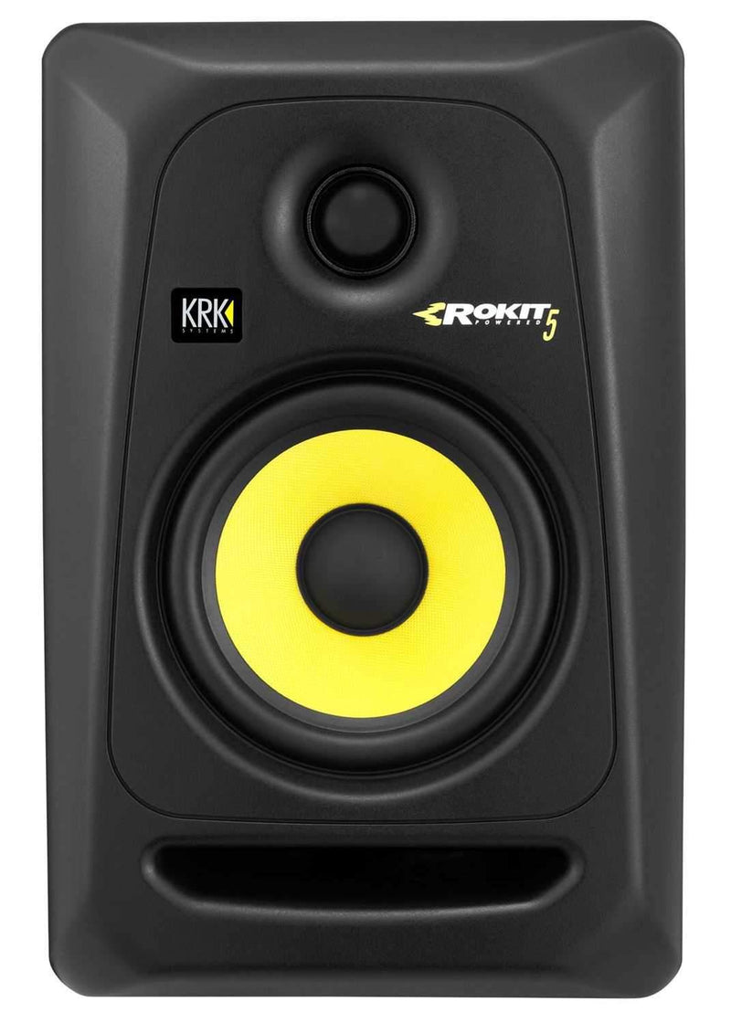 KRK RP5 G3 Studio Monitors with On Stage Stands and Isolation Pads - PSSL ProSound and Stage Lighting