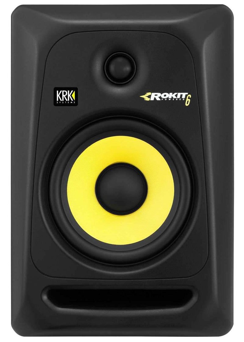 KRK RP6 G3 Studio Monitors with On Stage Stands and Isolation Pads - PSSL ProSound and Stage Lighting