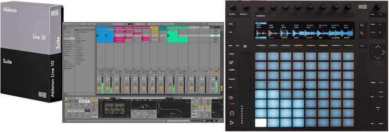 Ableton PUSH 2 Controller with Live 10 Suite Edition Boxed Software - PSSL ProSound and Stage Lighting