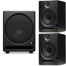 PreSonus Eris E8 8-Inch Studio Monitor Pair with Temblor T10 Subwoofer