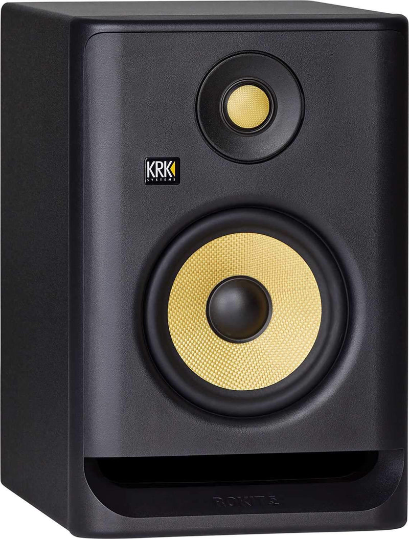 KRK RP5 G4 ROKIT 5-In Powered Studio Monitor Pair - PSSL ProSound and Stage Lighting