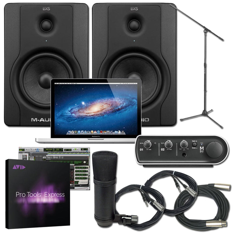 Protools Express MBox 3 Mini Pack with Macbook Pro - PSSL ProSound and Stage Lighting