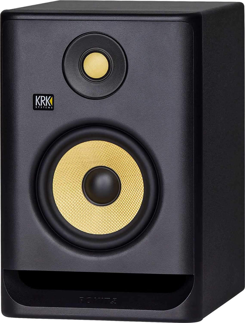 KRK RP5 G4 ROKIT 5-in Powered Studio Monitor Bundle - PSSL ProSound and Stage Lighting