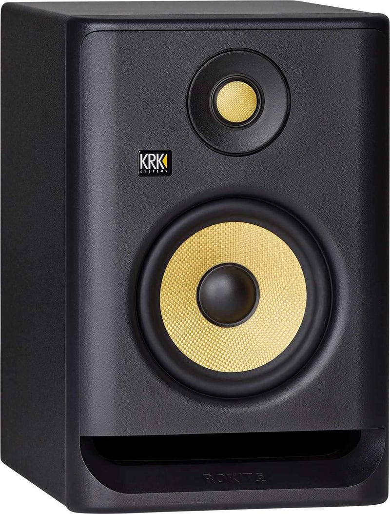 KRK RP8 G4 ROKIT 8-in Powered Studio Monitor Bundle - PSSL ProSound and Stage Lighting