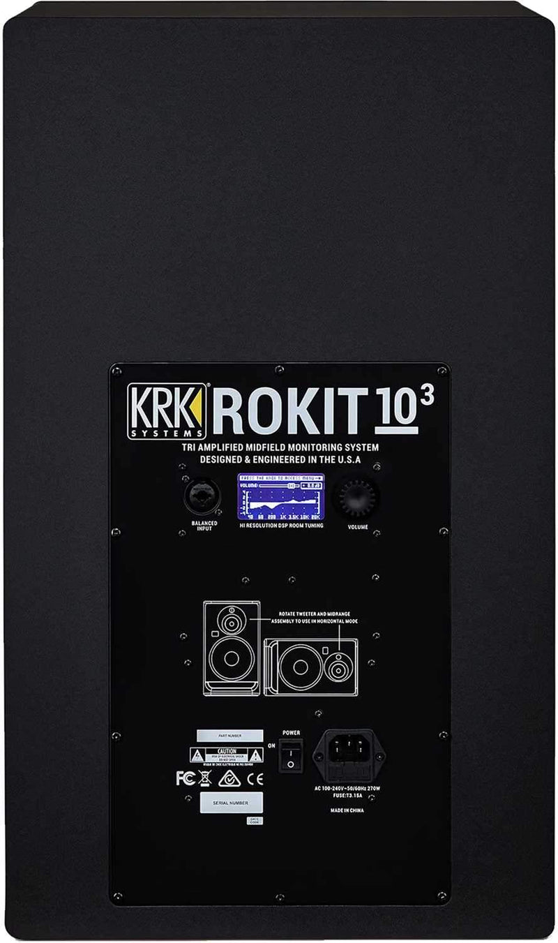 KRK RP103 G4 Rokit 10in. Powered Monitor Pair - PSSL ProSound and Stage Lighting
