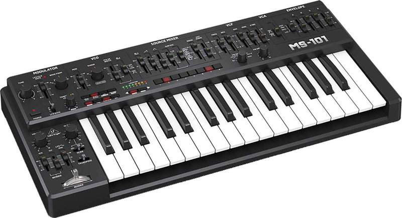 Behringer MS-101-BK Analog Synth with EVA Case - PSSL ProSound and Stage Lighting