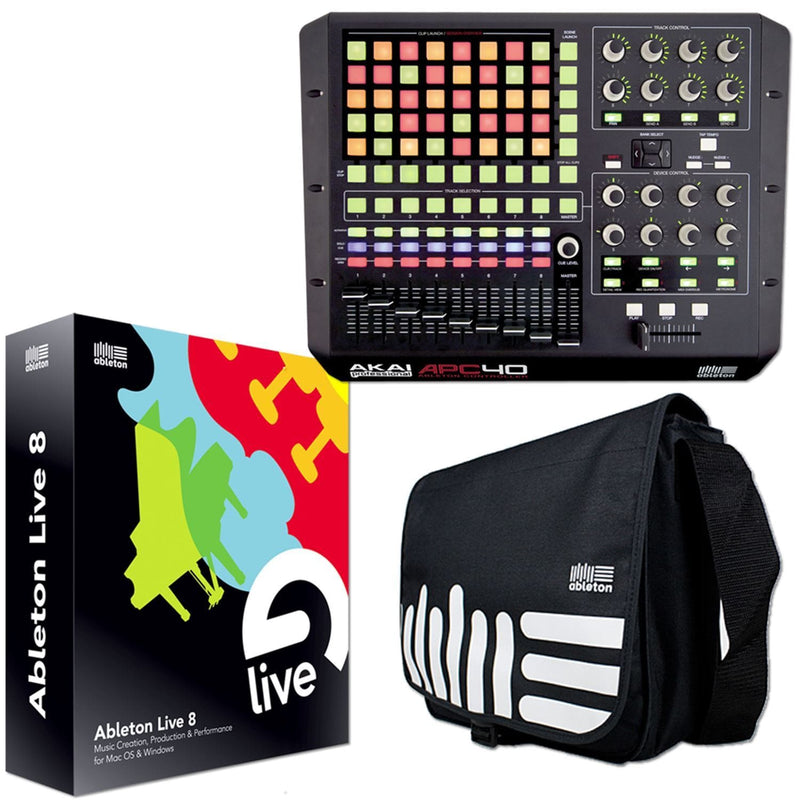 Akai APC40 & Ableton Live Upgrade Production Pack - PSSL ProSound and Stage Lighting